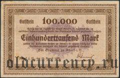 Адорф (Adorf), 100.000 марок 1923 года