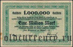 Адорф (Adorf), 1.000.000 марок 1923 года