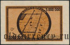 Крефельд (Crefeld), 5.000.000 марок 1923 года