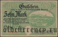Аннаберг (Annaberg), 10 марок 1918 года