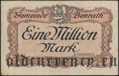 Бенрат (Benrath), 1.000.000 марок 1923 года