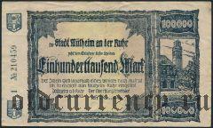 Мюльхайм-на-Руре (Mülheim an der Ruhr), 100.000 марок 1923 года. Вар. 2