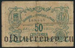 Франция, Mans, 50 сантимов 1915 года