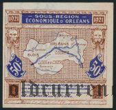 Франция, d'Orleans et de Blois, 50 сантимов 1921 года