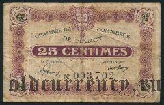 Франция, Nancy, 25 сантимов