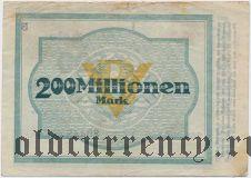Бохум (Bochum), 200.000.000 марок 1923 года