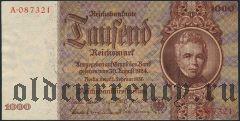 Германия, 1000 рейхсмарок 1936 года