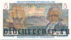 Сен-Пьер и Микелон, 5 франков