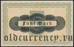 Траунштайн (Traunstein), 5 марок 1919 года