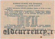 4-я лотерея Деткомиссии при ВЦИК, разряд V, 1931 год