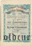 Русско-Бельгийское общ. керамической продукции, ординарная акция