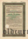 Preussische Laandesrentenbank, Берлин, 500 рейхсмарок 1940 года
