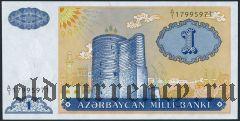 Азербайджан, 1 манат (1993) года