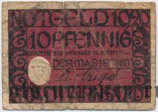 Арнштадт (Arnstadt), 10 пфеннингов 1920 года