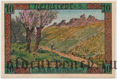 Найнштедт (Neinstedt), 10 пфеннингов 1921 года