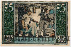 Кирххайн (Kirchhain), 75 пфеннингов 1921 года