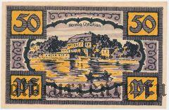 Мерзебург (Merseburg), 50 пфеннингов 1921 года. Вар. 2