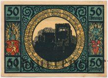 Лобеда (Lobeda), 50 пфеннингов 1921 года. Вар. 2