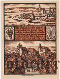 Вайсензе (Weissensee), 75 пфеннингов 1921 года