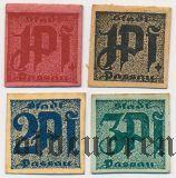 Пассау (Passau), 4 нотгельда (1921) года