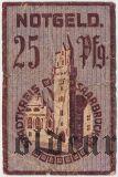 Саарбрюккен (Saarbrücken), 25 пфеннингов 1919 года