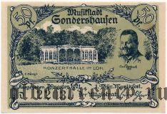 Зондерсхаузен (Sondershausen), 50 пфеннингов 1921 года