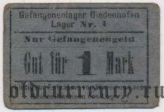 Диденхофен (Diedenhofen), лагерь для русских военнопленных, 1 марка