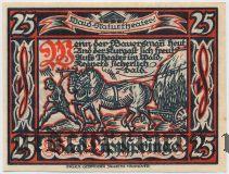 Бад-Липшпринге (Bad Lippspringe), 25 пфеннингов 1921 года