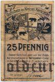 Бернкастель-Кус (Berncastel-Cues), 25 пфеннингов 1920 года
