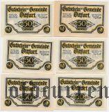 Дитфурт (Ditfurt), 6 нотгельдов 1921 года