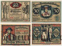 Айсберген (Eisbergen), 4 нотгельда 1921 года