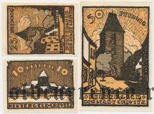 Кривиц (Crivitz), 3 нотгельда 1922 года