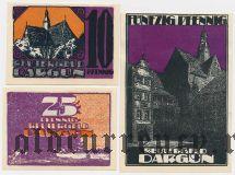 Даргун (Dargun), 3 нотгельда 1921 года