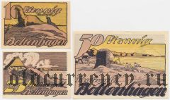 Больтенхаген (Boltenhagen), 3 нотгельда 1922 года