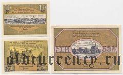 Вольдегк (Woldegk), 3 нотгельда 1922 года