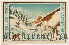 Альтенау (Altenau), 75 пфеннингов 1921 года. Вар. 6