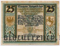 Арнсберг (Arnsberg), 25 пфеннингов 1920 года
