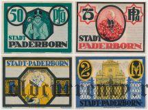Падерборн (Paderborn), 4 нотгельда 1921 года