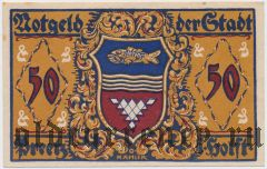 Прец (Preetz), 50 пфеннингов 1921 года