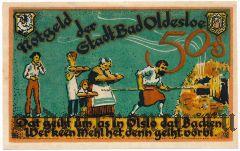 Бад-Ольдесло (Bad Oldesloe), 50 пфеннингов