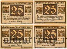 Зуль (Suhl), 4 нотгельда