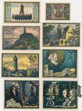 Йена (Jena), 8 нотгельдов 1921 года