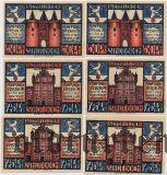 Гох (Goch), 6 нотгельдов 1922 года