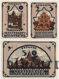 Гадебуш (Gadebusch), 3 нотгельда 1921 года
