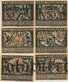 Остерфельд (Osterfeld), 6 нотгельдов 1921 года