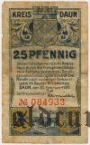 Даун (Daun), 25 пфеннингов 1920 года