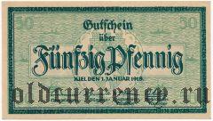 Киль (Kiel), 50 пфеннингов 1918 года