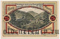 Гревенрода (Gräfenroda), 25 пфеннингов 1921 года