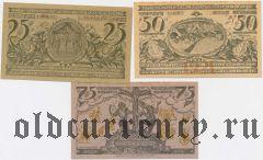 Обераммергау (Oberammergau), 3 нотгельда 1921 года