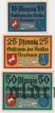 Нойхаус Осте (Neuhaus a. Oste), 3 нотгельда 1921 года